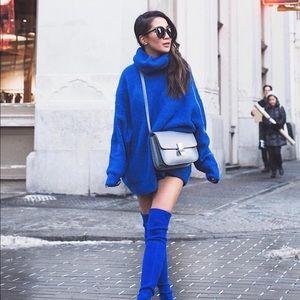 Blogger favorite oversized Zara sweater Sz S NWOT